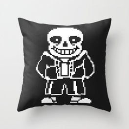 bad time sans Throw Pillow