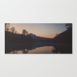 deep hayes sunrise reflection Canvas Print