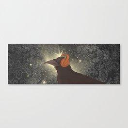 Rad Crow Canvas Print
