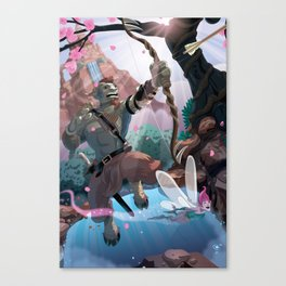Almighty Pan Canvas Print