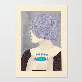 Wet Hair Canvas Print