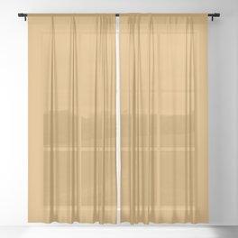 Cedar Creek Grist Mill ~ Gold Sheer Curtain