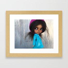 ERREGIRO BLYTHE DOLL KALIE Framed Art Print