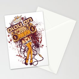 Play on Stationery Cards