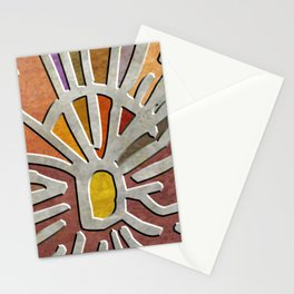 Tribal Maps - Magical Mazes #03 Stationery Cards