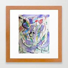 The Genesis  Framed Art Print