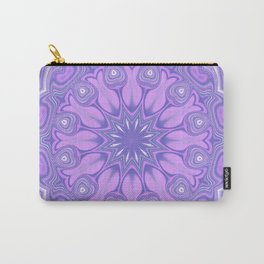 Purple Kaleidoscope Carry-All Pouch