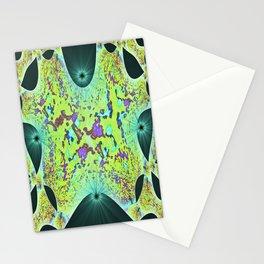 Spaceship Window  Stationery Cards