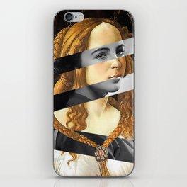 "Sandro Bottiecelli's Venus from ""Venus and Mars"" & Liz Taylor iPhone Skin"