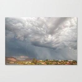 A Monsoon Sky Full of Secrets Canvas Print