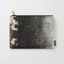 Abstract wall grey painting Carry-All Pouch