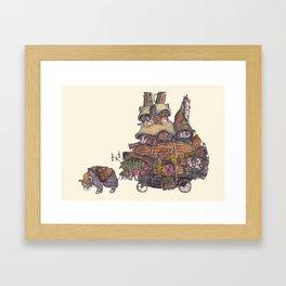 Twulóig's Travelling Tavern. Framed Art Print