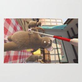 Three Blind Mice - Nursery Rhyme Inspired Art Rug