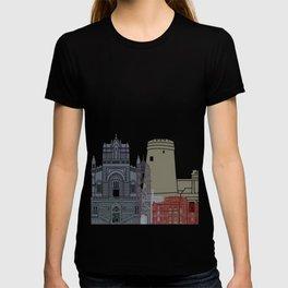 Rijeka skyline poster T-shirt