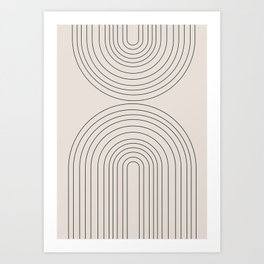 Arch Art Art Print