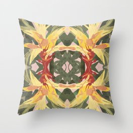 Bromeliad II Throw Pillow