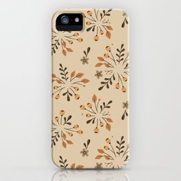 Thankful for You Fall Acorn iPhone Case