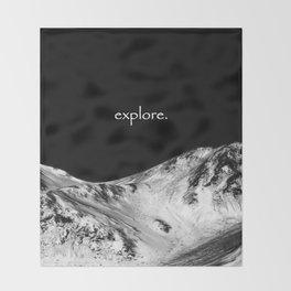 Go Explore Throw Blanket