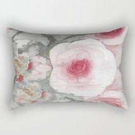 Floral Mirage Rectangular Pillow