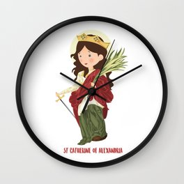 S.t. Catherine of Alexandria Wall Clock