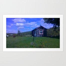 grange a chanson Art Print