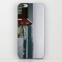 boats iPhone & iPod Skins featuring Boats by A. Serdyuk