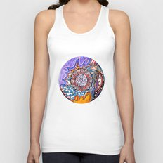 Moon viewer Unisex Tank Top