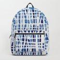 Shibori Braid Vivid Indigo Blue and White by followmeinstead