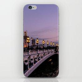 Nights in Paris iPhone Skin