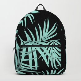 Palm Leaves Pattern Summer Vibes #6 #tropical #decor #art #society6 Backpack