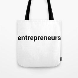 entrepreneurs Tote Bag