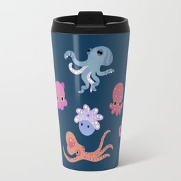 Octopus - dark Travel Mug