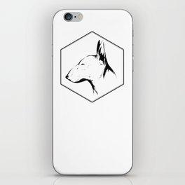 Canine Republic : Bull Terrier iPhone Skin
