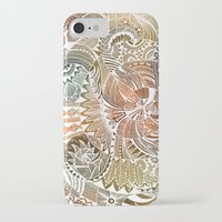 batik iPhone & iPod Cases featuring Batik by brenda erickson