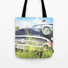 Cherries and Berries {Historic Cop Car} 1950's Buick  Tote Bag