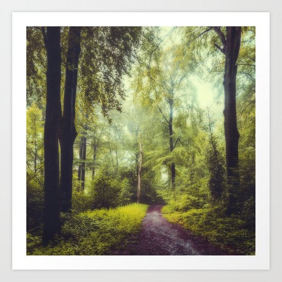 Dreamy Forest Art Print