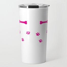 Rockin' The Rottweiler Mom Life Cute Travel Mug