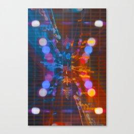 Futr Glow Canvas Print