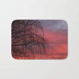 Willow Tree Sunset Bath Mat