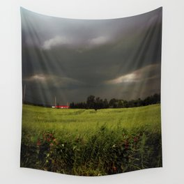 Rolling Thunder, Warm Winds Wall Tapestry