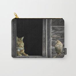 The Eyes are on the Sparrow Carry-All Pouch