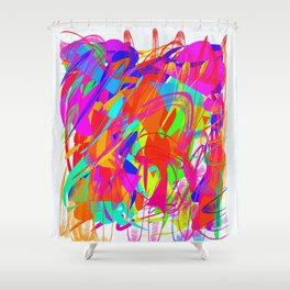 Rag Shower Curtain