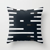 bug Throw Pillows featuring Bug by allan redd