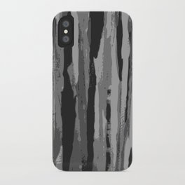 Grey Stripes iPhone Case