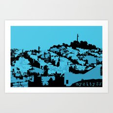 Telegraph Hill Print Art Print