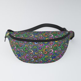 Crazy Scattered Marbles Fanny Pack