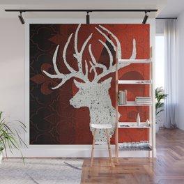 Reindeer Wall Mural