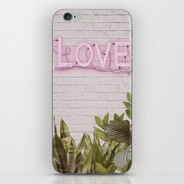 Love Sign iPhone Skin