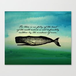 Moby Dick - The Madness of Men Canvas Print