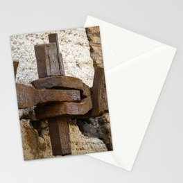 Steel anchor Stationery Cards